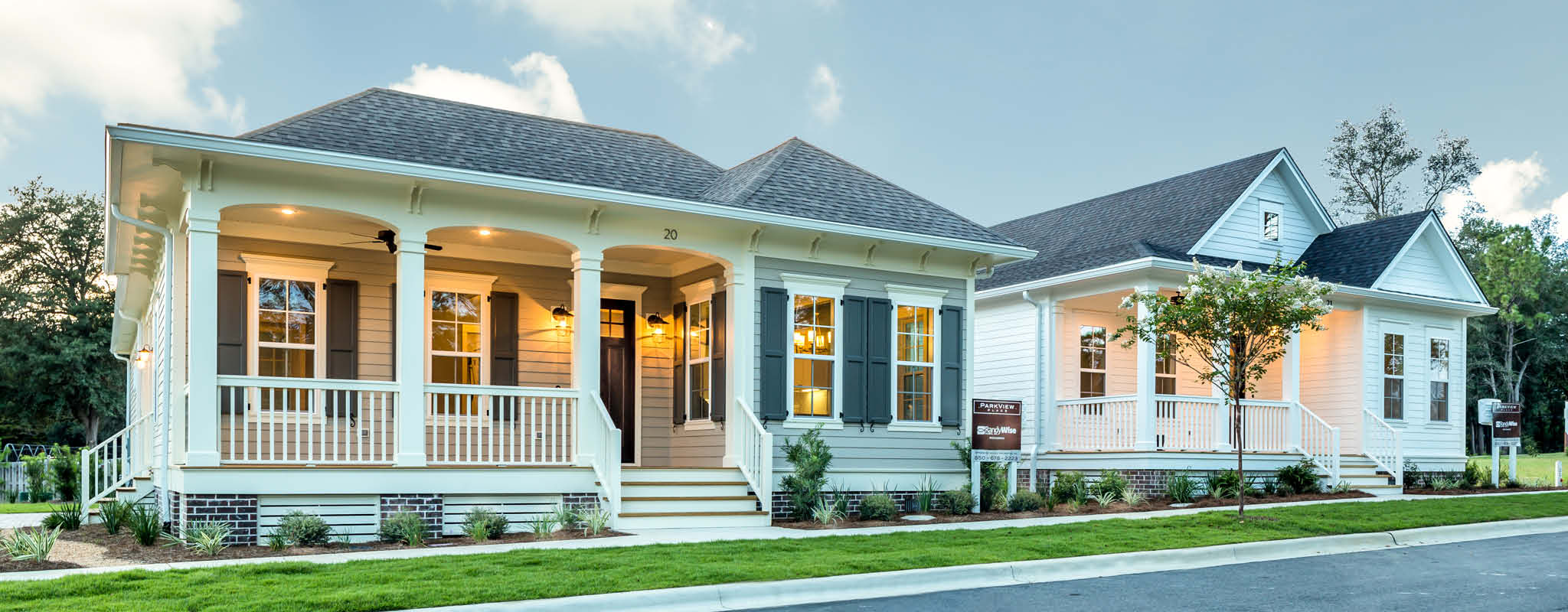 Southern Bungalows, Craftsman Homes