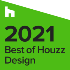 Best of Houzz Award 2021 for Design