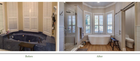Before and After Photos of Bathroom Remodel
