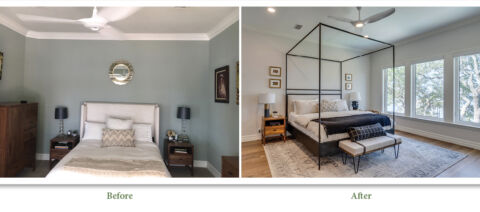 Bedroom Remodel Before and After